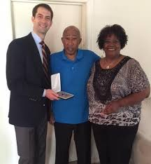 """Tom Cotton on Twitter: """"Honored to present Melvin Fields his missing medals  incl. a Purple Heart award he received after serving in Vietnam.  http://t.co/Xj0mWjChyK"""""""