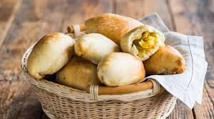 Картофель Блюда из картофеля Постные пирожки с картофелем