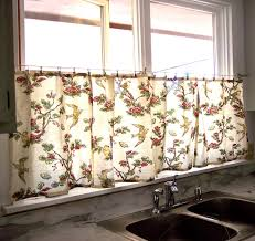 No Sew Curtains The Deckers No Sew Kitchen Window Curtains