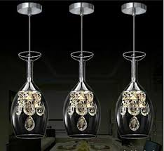 crystal wine glasses chandelier ceiling