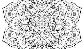 Coloring Pages Mandala Designs Bballcordobacom