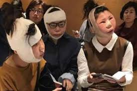 Airport In Korea At Chinese Surgery Plastic After South Women Detained