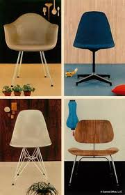 eames furniture design. 1954: Eames Office Produced This Beautiful Full Color Postcard Of #Eames Chairs By @ Furniture Design