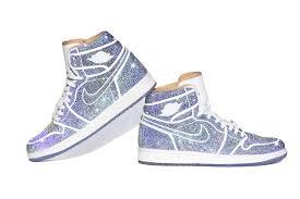 Jordan Shoes With Lights Air Jordan 1 Northern Lights Sneaker Has Over 15k Crystals