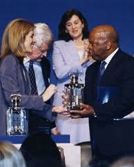 award recipients john f kennedy presidential library museum 2001 profile in courage lifetime achievement award recipient congressman john lewis caroline kennedy senator