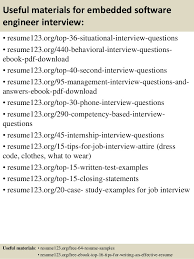 ... 12. Useful materials for embedded software engineer ...