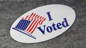 Image result for i voted sticker california