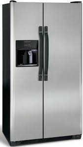 refrigerator 14 cu ft. frigidaire frs3hr35ks side by refrigerator with 3 spillsafe glass shelves, 22.6 cu. ft. capacity, 14 fresh-food 8 cu ft s
