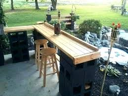 full size of patio bar cart with cooler plans outside bars ideas pallet build a serving