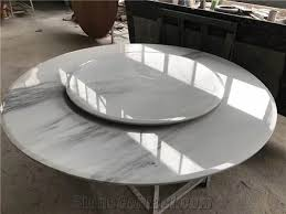 china white marble dining table top polished china landscape painting surface marble round table top