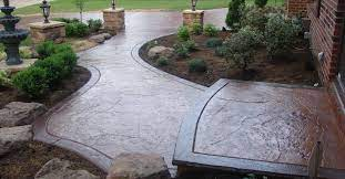 for stamped concrete and