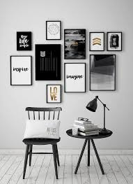 geometric wall art photography black and white wall decor