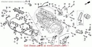 honda accord wagon 1992 n wgn ex ka kl engine wire harness engine wire harness clamp schematic