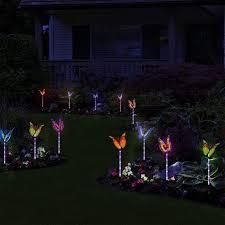 erfly lighting solar lights garden