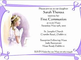 first communion invitation templates 54 primary communion invitation wording overtownpac org