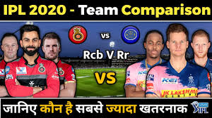 Let's get to business now. Ipl 2020 Rcb Vs Rr Team Comparison Rcb Vs Rr Playing 11 Youtube