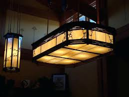 arts and crafts chandelier and style dining chandelier arts and crafts pendant lighting