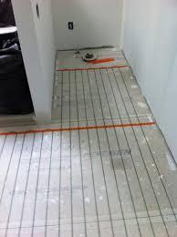 installing heated floor in bathroom wood floors small bathroom for elegant household installing heated floors in bathroom remodel