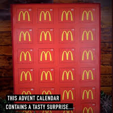 advent calander the mcdonalds advent calendar is all we want for christmas lovin