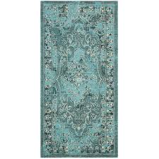 Black and turquoise rug Green Black Area Palazzo Turquoiseblack Ft In Ft Area Rug Home Depot Safavieh Palazzo Turquoiseblack Ft In Ft Area Rugpal128