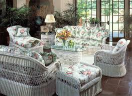 white patio furniture. Henry Link White Wicker Furniture Patio T