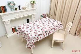 big bash rectangular 6 seater dining table cloth 137x182cm