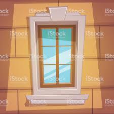 Retro Comic Fenster Stock Vektor Art Und Mehr Bilder Von Architektur