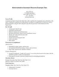Executive Assistant Resume Objective administrative assistant resume objective cliffordsphotography 45