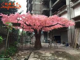 Fake Cherry Blossom Tree With Lights Hot Item Artificial Large Cherry Blossom Tree Fake Tree For Wedding Decoration