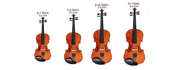 Size Guide For Violins Violas And Cellos Normans News