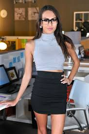 Janice Griffith secretary rubs feet on dick at the office.