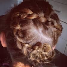 Flower Hair Style flower girl junior bridesmaid dutch braid flower braid flower 3301 by wearticles.com