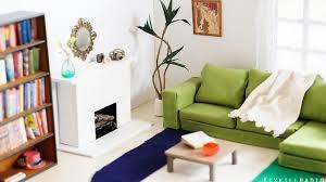 build dollhouse furniture. DIY Dollhouse Miniature Living Room Tutorial | Dolls, Nendoroid - YouTube Build Furniture