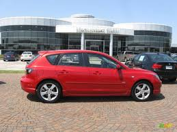 mazda 3 hatchback 2005. 2005 mazda3 s hatchback velocity red mica blackred photo 1 mazda 3