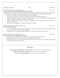 hr resume 2015
