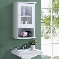 w wall mounted storage medicine cabinet