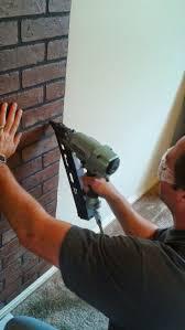 Painting Fake Brick Paneling Best 25 Faux Brick Walls Ideas On Pinterest Fake Brick Walls