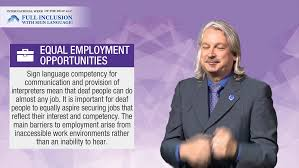 Jobs Deaf People Can Do International Week Of The Deaf 2017 Full Inclusion With