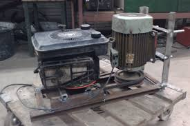 homemade generator. Interesting Generator 3kW Generator Lawnmower Engine Intended Homemade Generator T