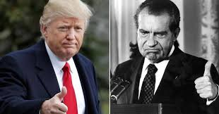 Image result for trump and Nixon impeachment