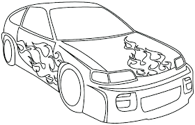 Racecar Coloring Page Car Printable Coloring Pages Lovely Race Car