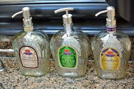 Decorative Liquor Bottles Crown Royal Soap Dispenser Liquor Bottle Soap Dispenser 7