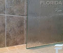 Rain Glass Shower Doors Frameless Florida Shower Doors Rain Glass Pattern Door Enclosure