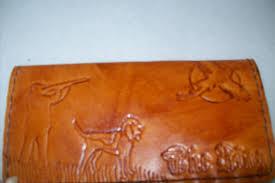 custom made custom leather checkbook cover