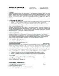 Good Objectives To Put On A Resume Resume Sample Source