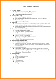 9 Business Plan Layout Coaching Resume Outline 2017 Template Free