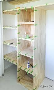 Fabulous Closet With Shelves Best 25 Closet Shelving Ideas On Pinterest