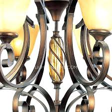 wrought iron chandeliers with shades wrought iron chandelier with glass shades