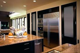 frosted glass pantry door eat in kitchen large traditional idea