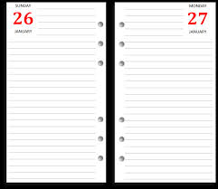 Diary Page Template My Life All In One Place Free Filofax Personal Diary